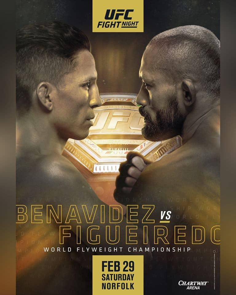 UFC Fight Night 169: Benavidez vs. Figueiredo 1
