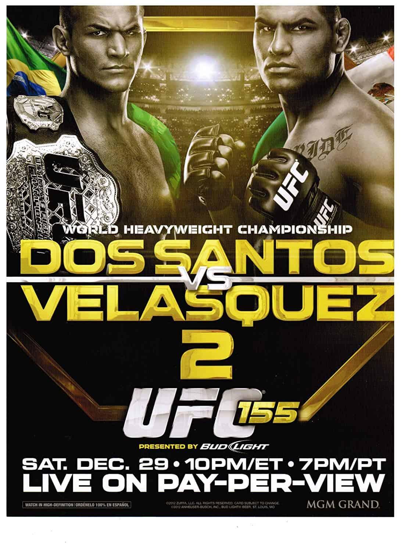 UFC 155: dos Santos vs. Velasquez 2 1