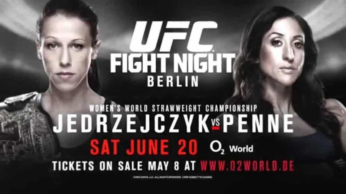 UFC Fight Night: J?drzejczyk vs. Penne 1