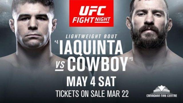 UFC Fight Night: Iaquinta vs. Cowboy 1