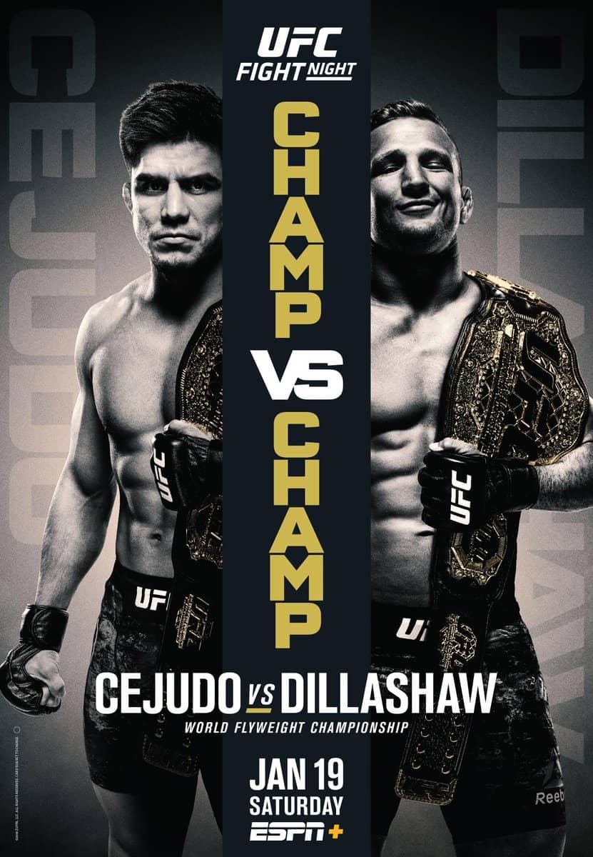 UFC Fight Night: Cejudo vs. Dillashaw 1