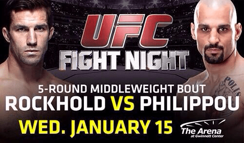 UFC Fight Night: Rockhold vs. Philippou 1