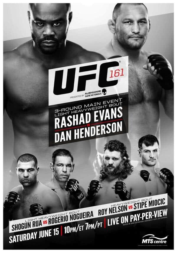 UFC 161: Evans vs. Henderson 1