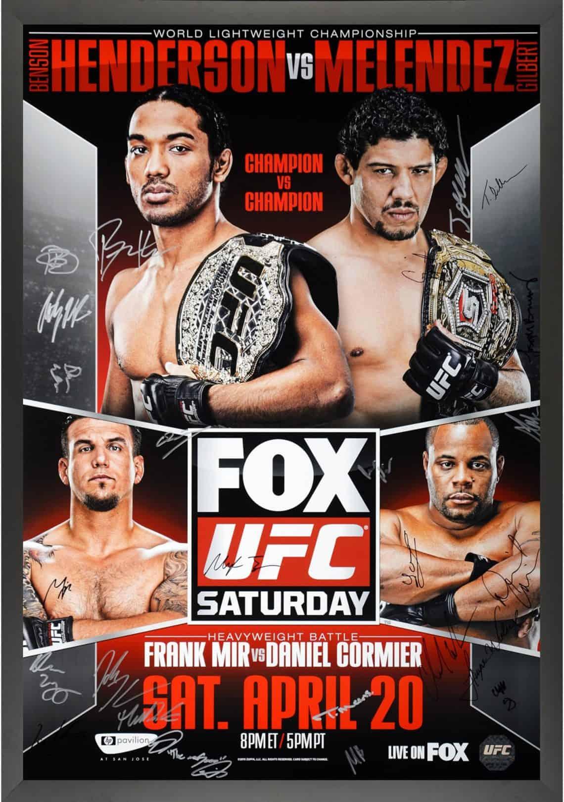 UFC on Fox: Henderson vs. Melendez 1