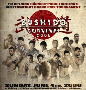 Pride Bushido Survival 2006 2