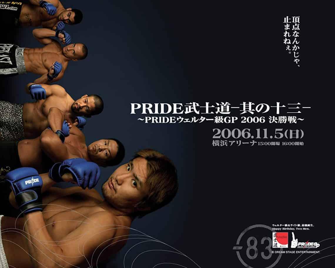 Pride Bushido 13 1