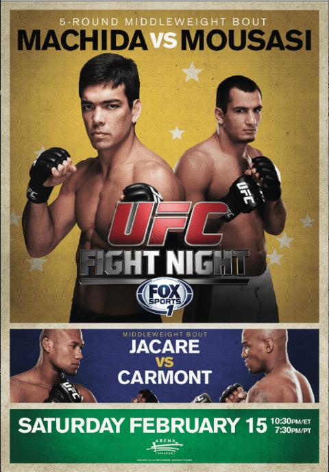 UFC Fight Night: Machida vs. Mousasi 1