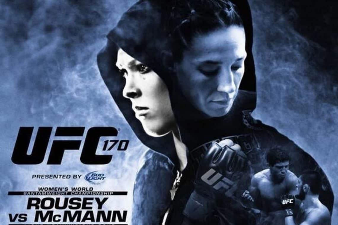 UFC 170: Rousey vs. McMann 1