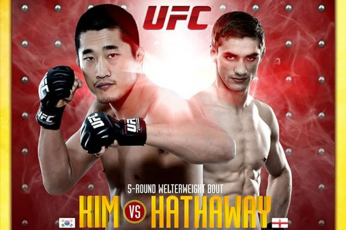 The Ultimate Fighter China Finale: Kim vs. Hathaway 1