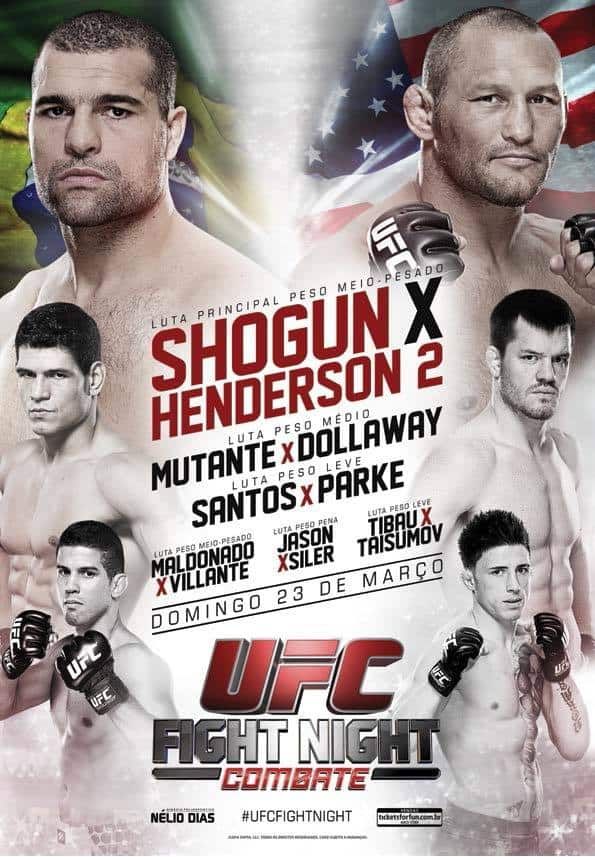 UFC Fight Night: Shogun vs. Henderson 2 1