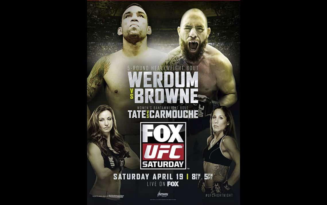 UFC on Fox: Werdum vs. Browne 1