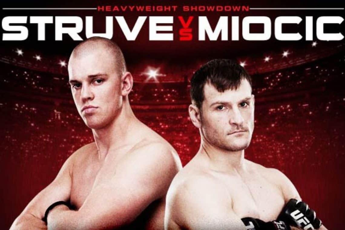 UFC on Fuel TV: Struve vs. Miocic 1