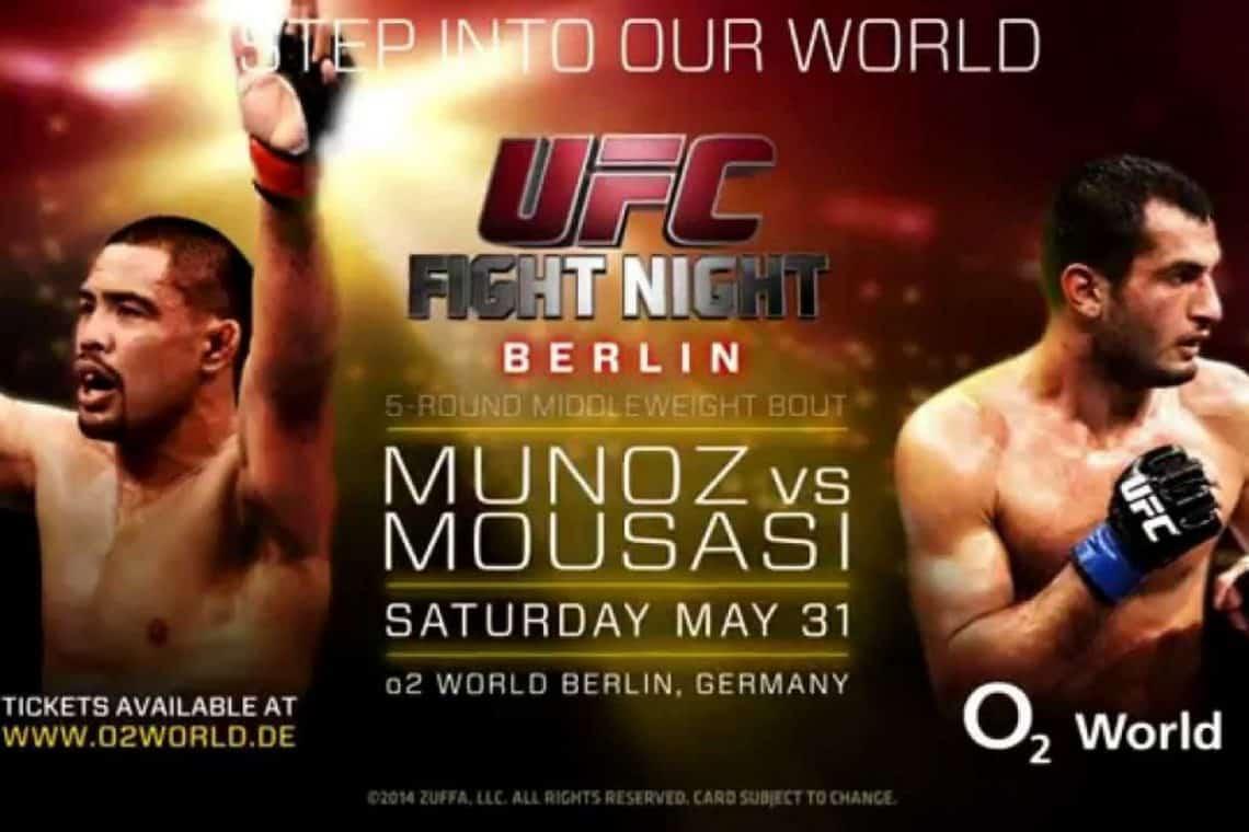 UFC Fight Night: Muñoz vs. Mousasi 1