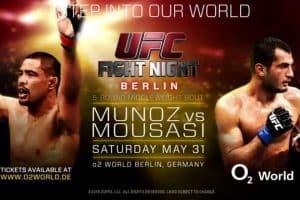 UFC Fight Night: Muñoz vs. Mousasi 2