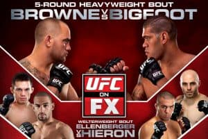 UFC on FX: Browne vs. Bigfoot 2