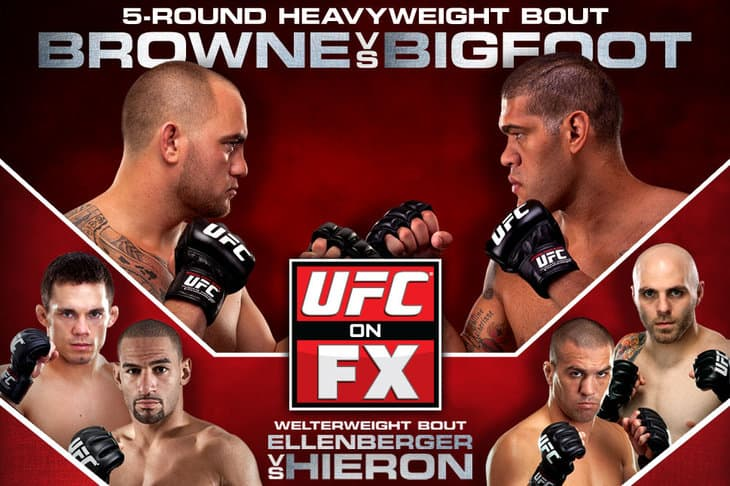 UFC on FX: Browne vs. Bigfoot 1