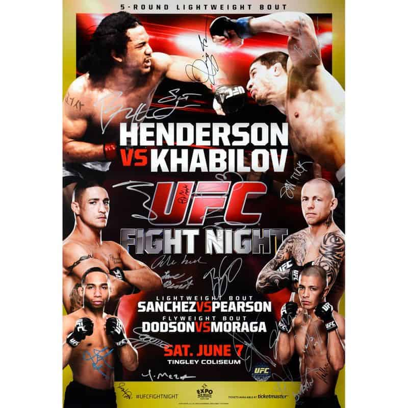 UFC Fight Night: Henderson vs. Khabilov 1