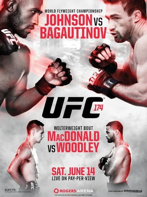 UFC 174: Johnson vs. Bagautinov 1
