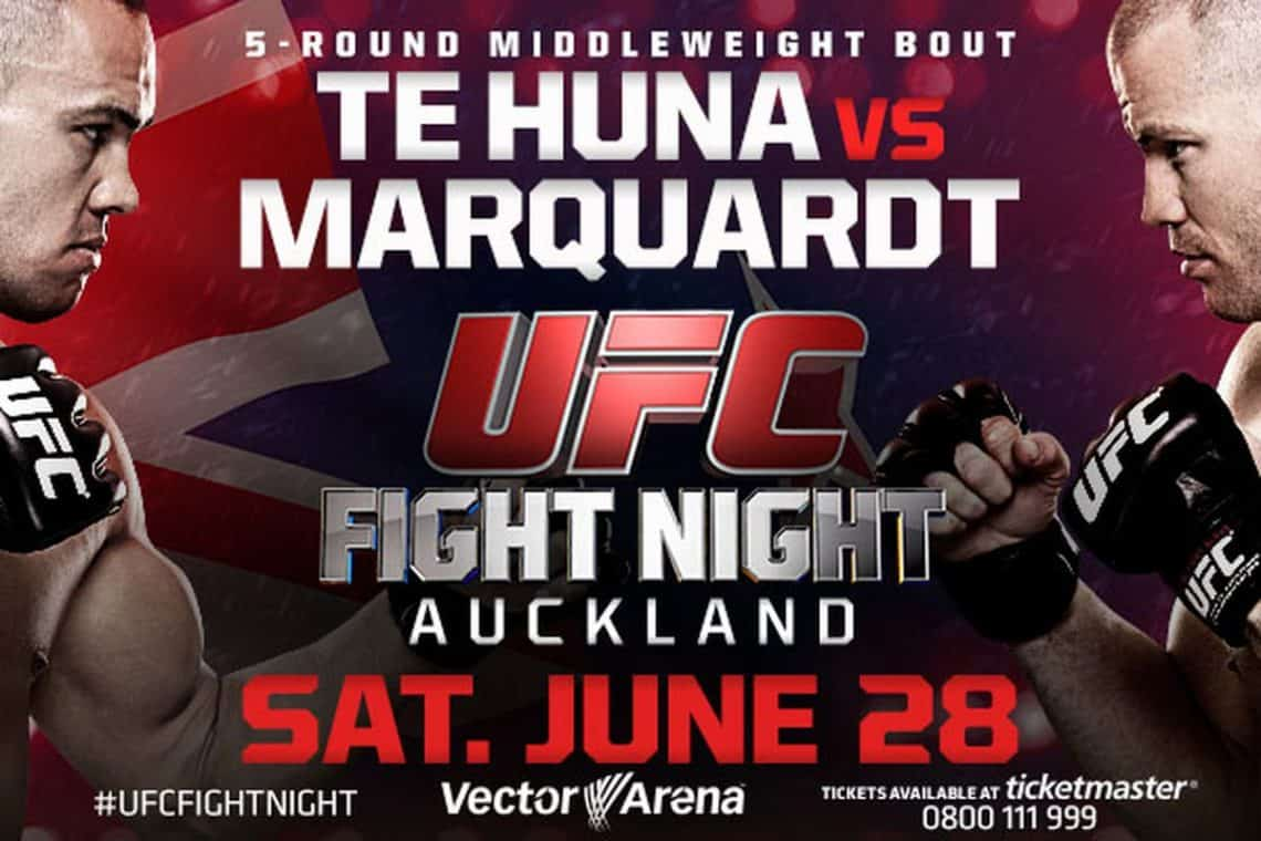 UFC Fight Night: Te Huna vs. Marquardt 1