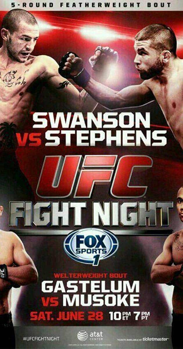 UFC Fight Night: Swanson vs. Stephens 1