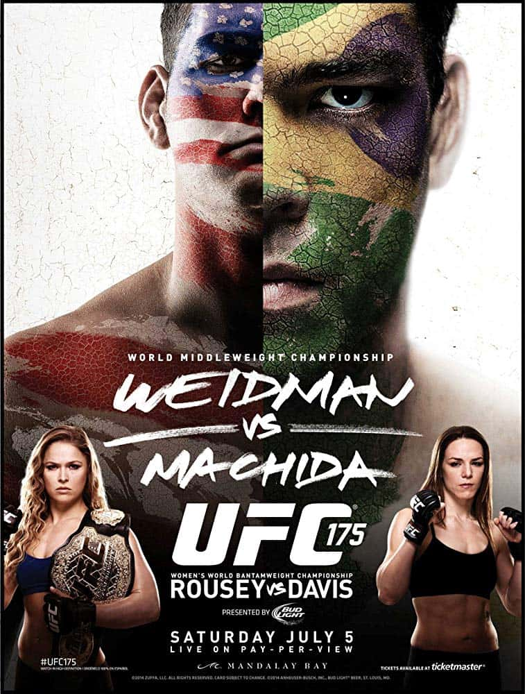 UFC 175: Weidman vs. Machida 1
