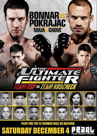 The Ultimate Fighter: Team GSP vs. Team Koscheck Finale 1