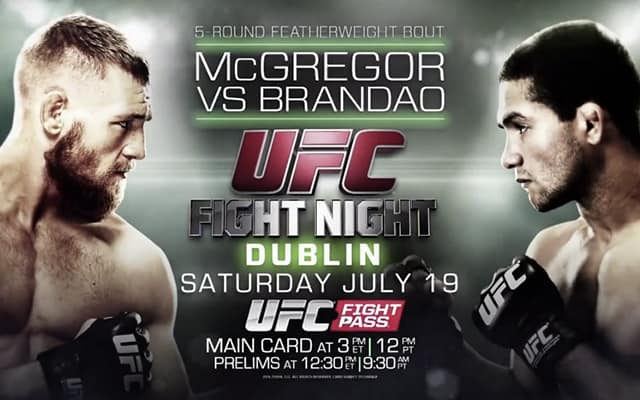 UFC Fight Night: McGregor vs. Brandao 1