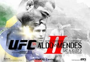 UFC 176: Aldo vs. Mendes II 2