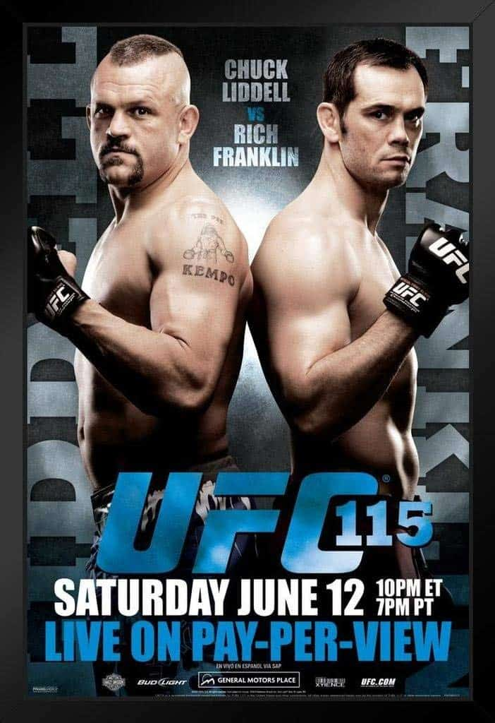 UFC 115: Liddell vs. Franklin 1