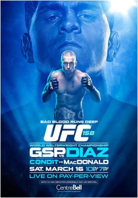 UFC 158: St-Pierre vs. Diaz 1