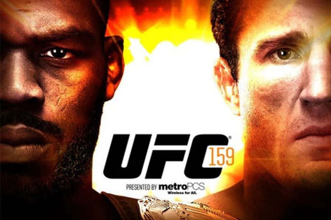 UFC 159: Jones vs. Sonnen 1