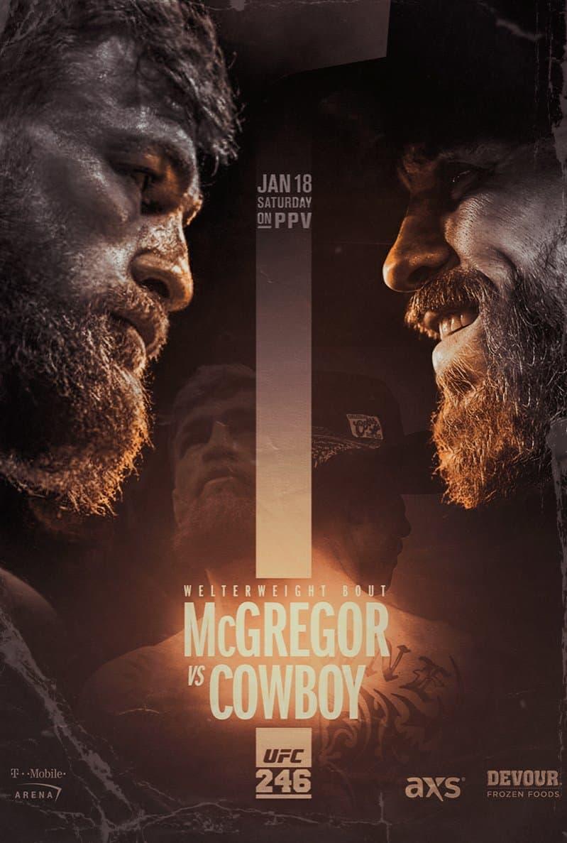 UFC 246: Conor McGregor vs. Donald Cowboy Cerrone 1