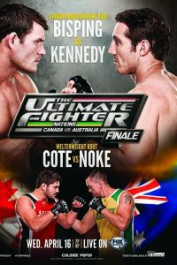 The Ultimate Fighter Nations Finale: Bisping vs. Kennedy 2