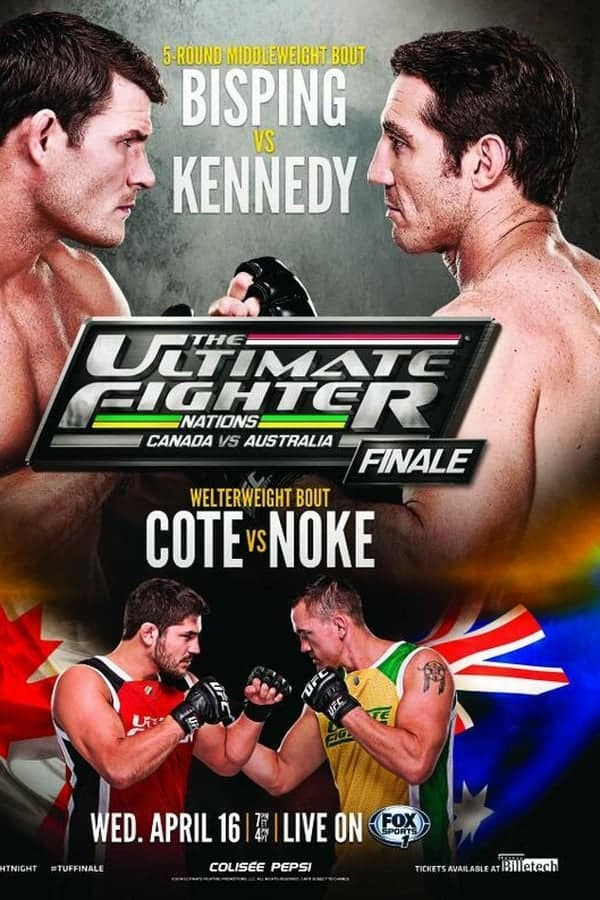 The Ultimate Fighter Nations Finale: Bisping vs. Kennedy 1