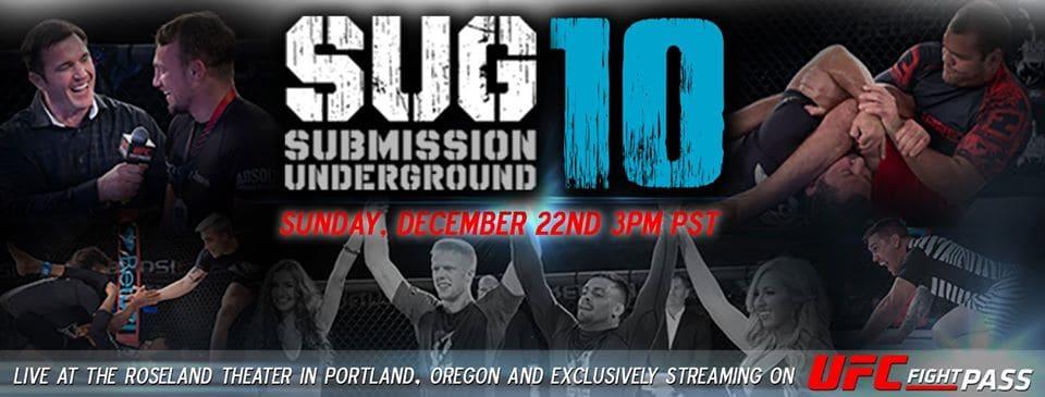 Submission Underground 10: questo weekend con Gordon Ryan, Gonzaga, Craig Jones e Burns 3
