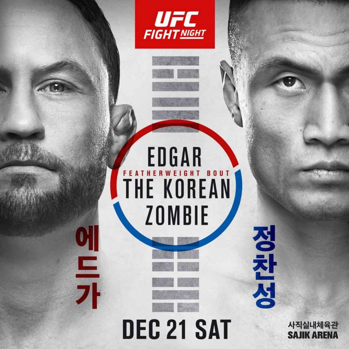 UFC Fight Night: Edgar vs. The Korean Zombie 1