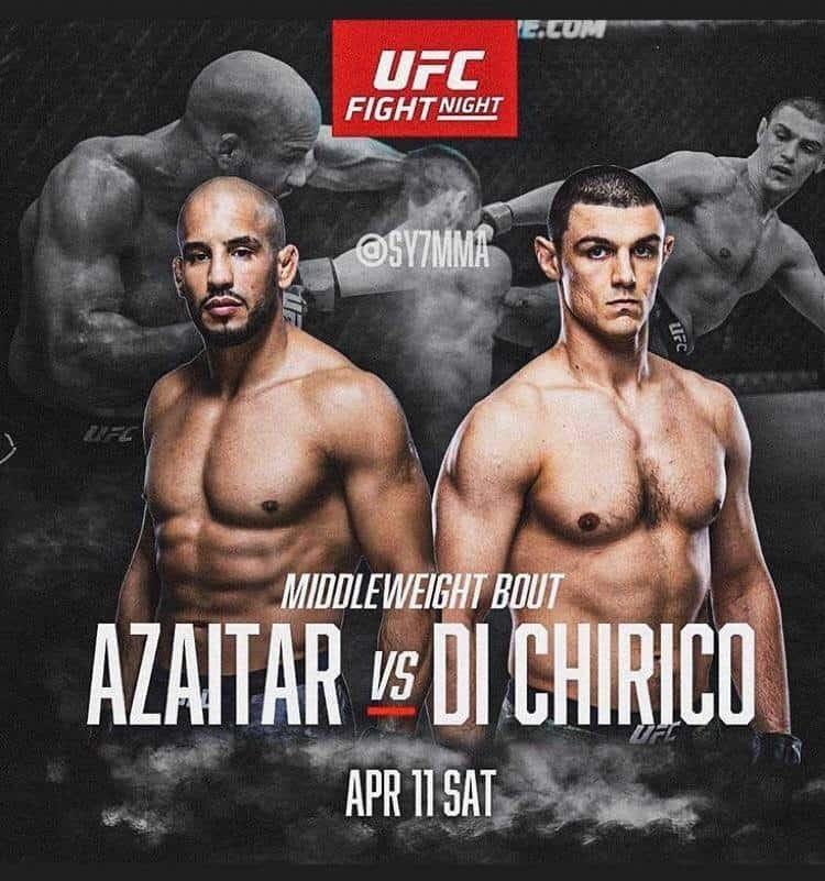 UFC Fight Night 172: Alessio Di Chirico vs Azaitar 1