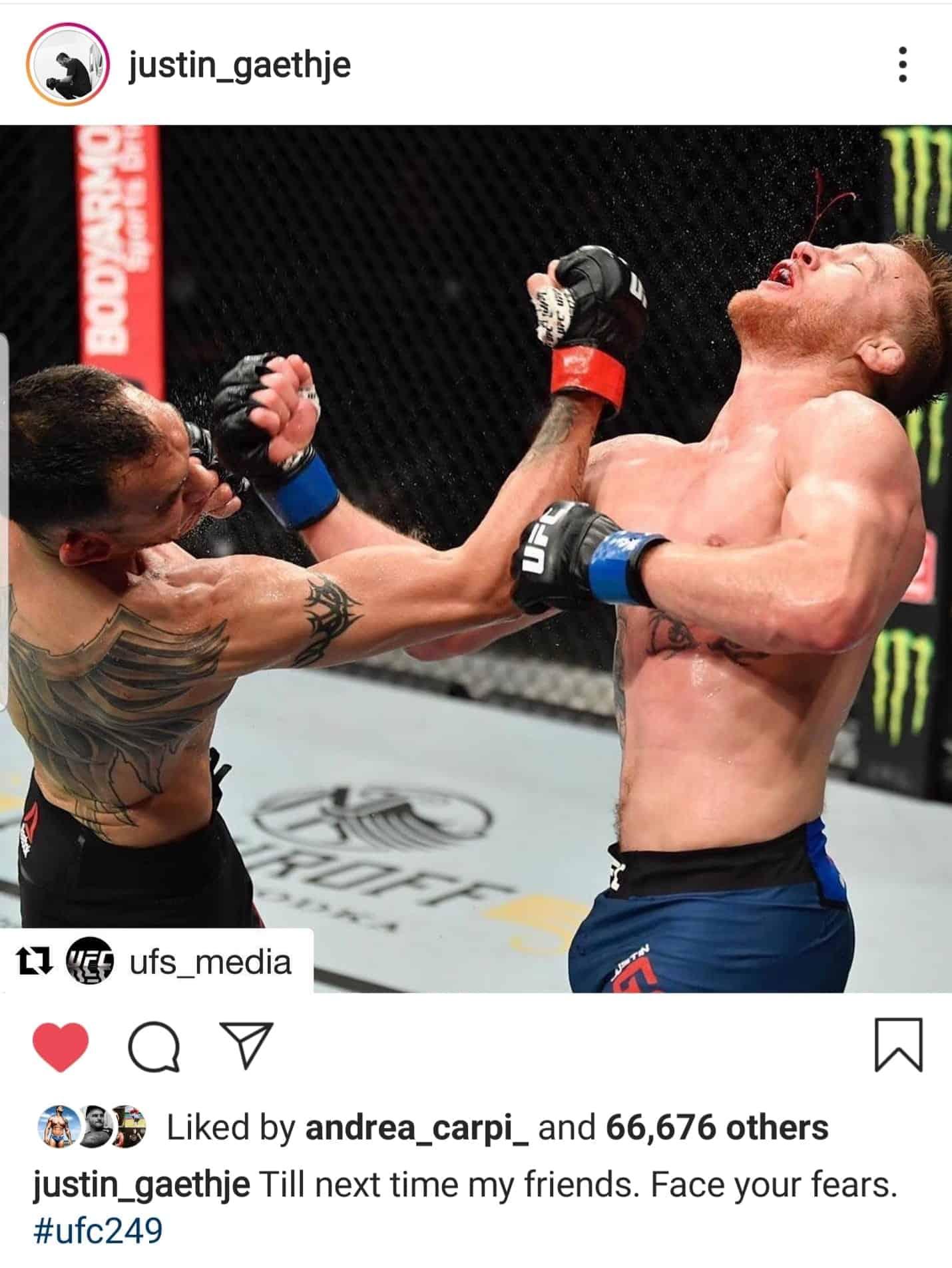 UFC 249: Gaethje vs. Ferguson 2