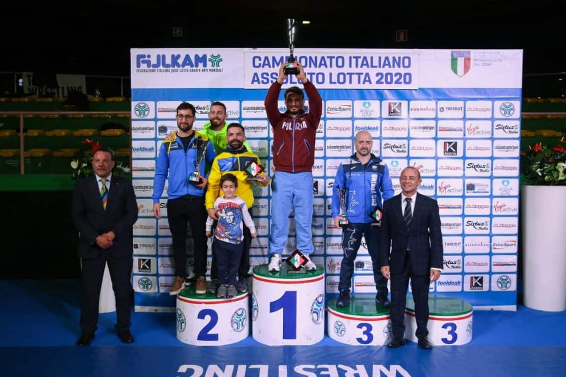 Campionati Italiani Assoluti di Lotta 2020 - Roma 1