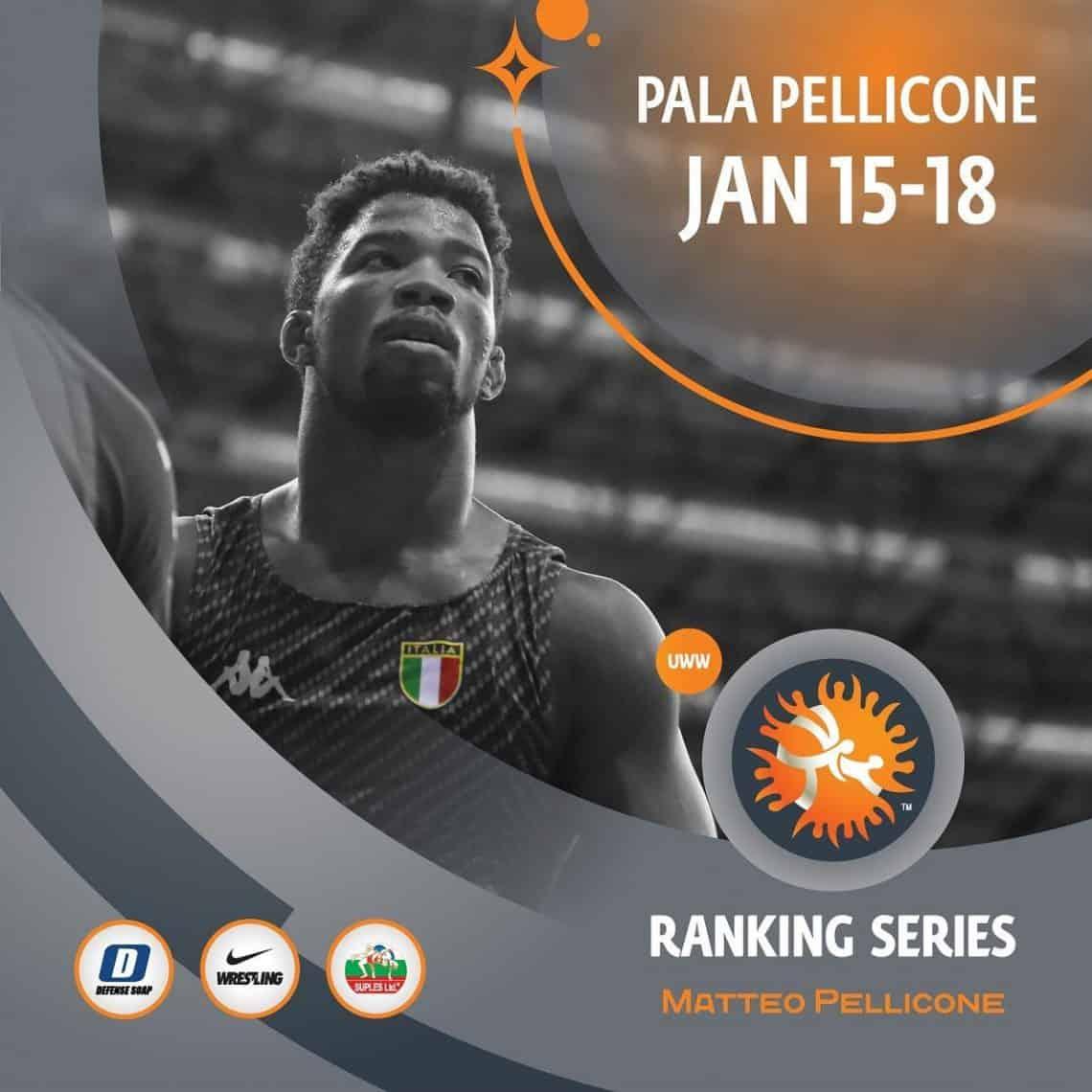 2020 Ranking Series Wrestiling Matteo Pellicone - Roma 1