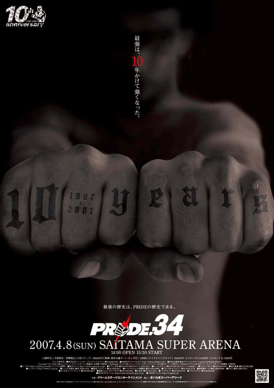 Tutti gli eventi PRIDE FC MMA 107