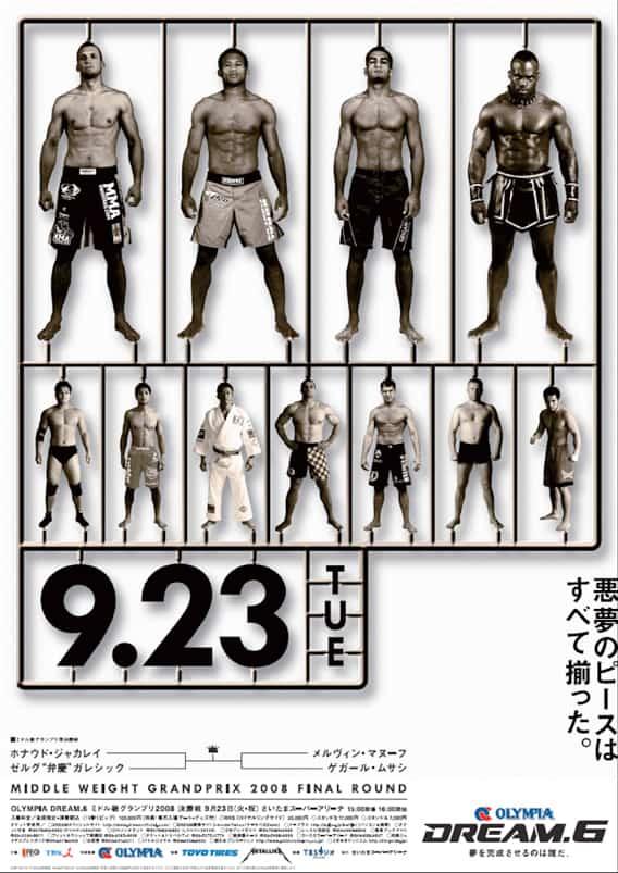 Dream MMA: retrospettiva e poster 45