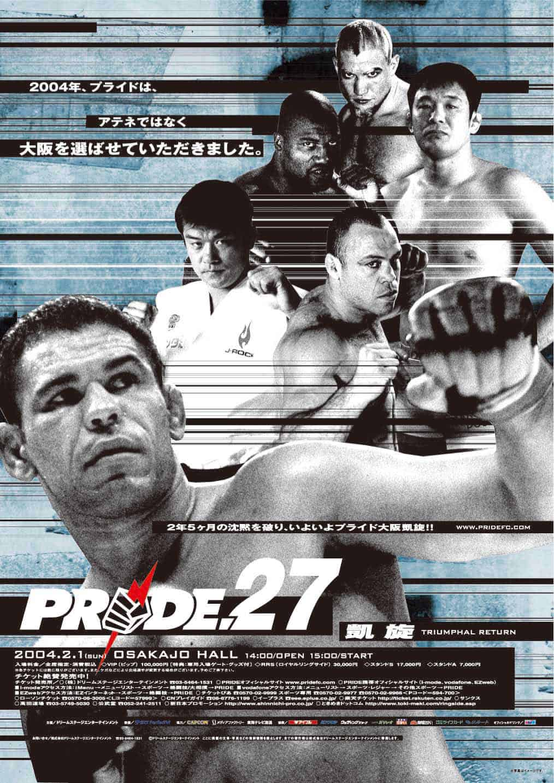 Tutti gli eventi PRIDE FC MMA 79