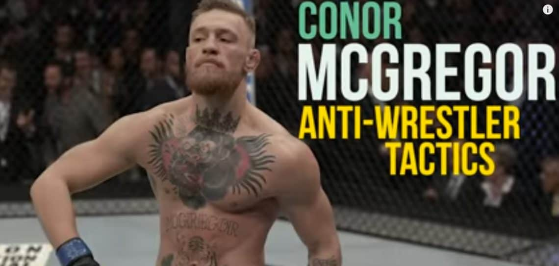 Study della Takedown defence di Conor McGregor (a cura di BJJScout) 1