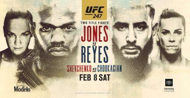 Risultati UFC 247: Jones vs. Reyes 8