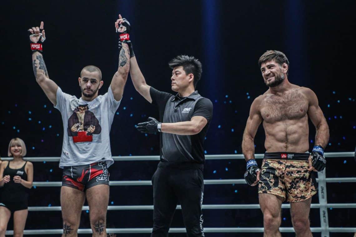 ONE FC: Iuri Lapicus vince contro Marat Gafurov 1