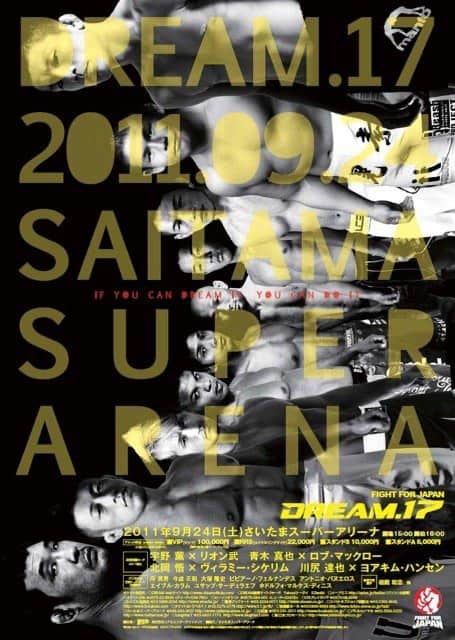 Dream MMA: retrospettiva e poster 18