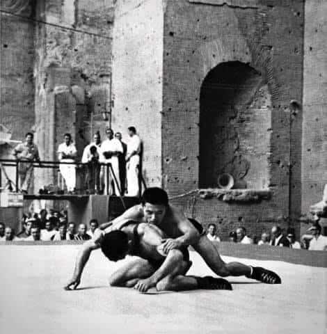 Olimpiadi Roma 1960: La lotta in uno scenario mozzafiato. 3