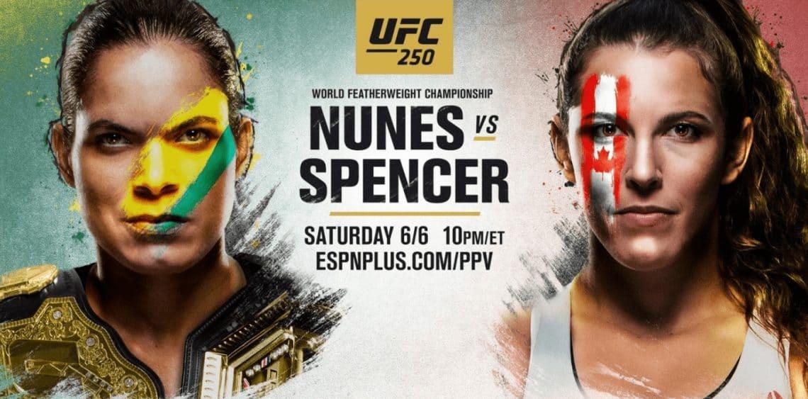 UFC 250: Nunes vs. Spencer 1