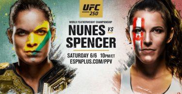 Risultati UFC 250: Nunes vs. Spencer 9